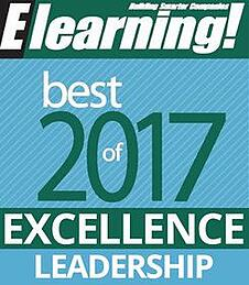 2017 Best of Elearning! Excellence in Leadership Content