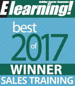 2017 Best of Elearning! Sales Training Winner