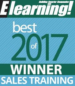 2017 Best of Elearning! Winner Sales Training