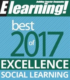 2017 Best of Elearning! Excellence in Social Learning