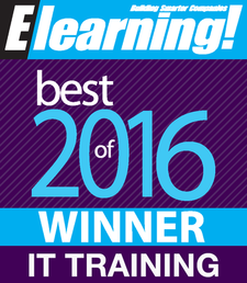 2016 Best of Elearning! Winner IT Training