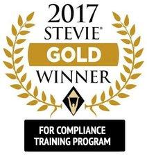 Stevie-Award-Gold_Compliance_Training