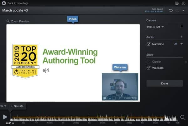 ej4 - Award-Winning eLearning Authoring Tool