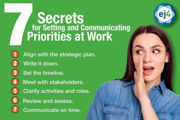 ej4 - 7 Secrets for Setting and Communicating Priorities at Work