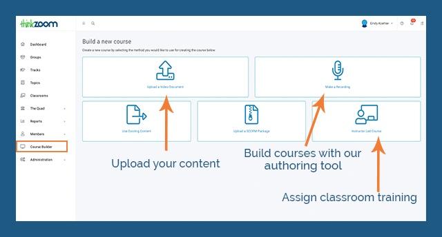 ej4 Thinkzoom Checklist - Course Builder