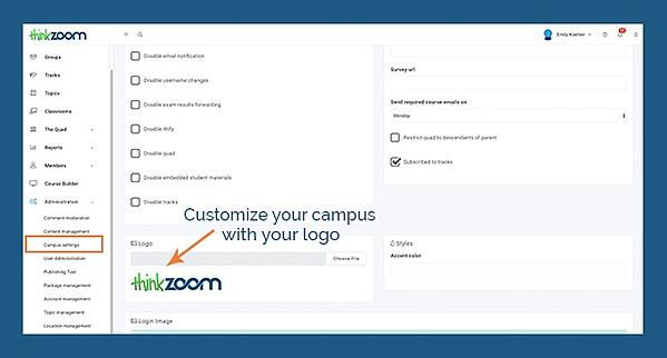 ej4 Thinkzoom Checklist - Custom Logo
