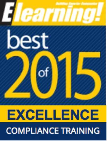 2015 Best of Elearning! Excellence in Compliance Training