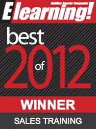 2012 Best of Elearning! Sales Training Winner