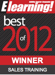 2012 Best of Elearning! Sales Training Winner
