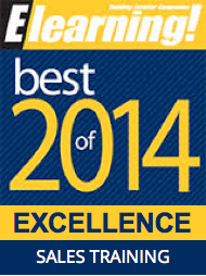 2014 Best of Elearning! Excellence in Sales Training