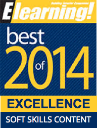 2014 Best of Elearning! Excellence in Soft Skills Content