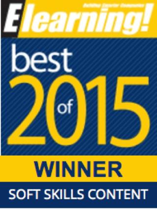 2015 Best of Elearning! Soft Skills Content Winner