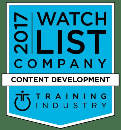 2017 Content Development Companies Watch List