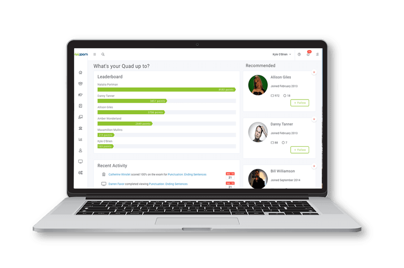 More than a learning management system