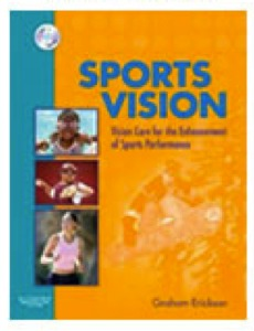 Erickson book Sports Vision Care Enhancement Performance