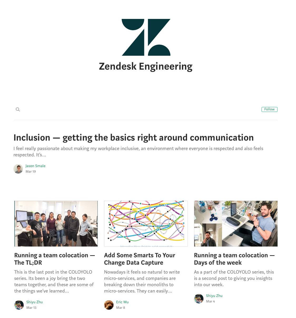 Zendesk Engineering