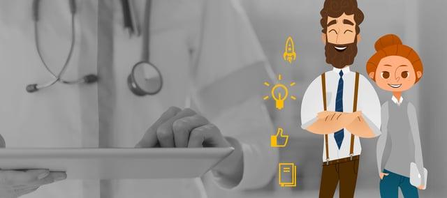 Experimentando 4 nuevas etapas de marketing para hospitales y clínicas.