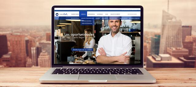 Agregando poder a un sitio web: Credifiel