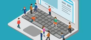 Estrategia para aumentar visitas a la web de empresas de software