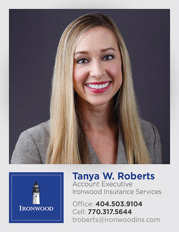 Ironwood Insurance Services Welcomes Tanya Roberts, CIC, CISR, as Account Executive