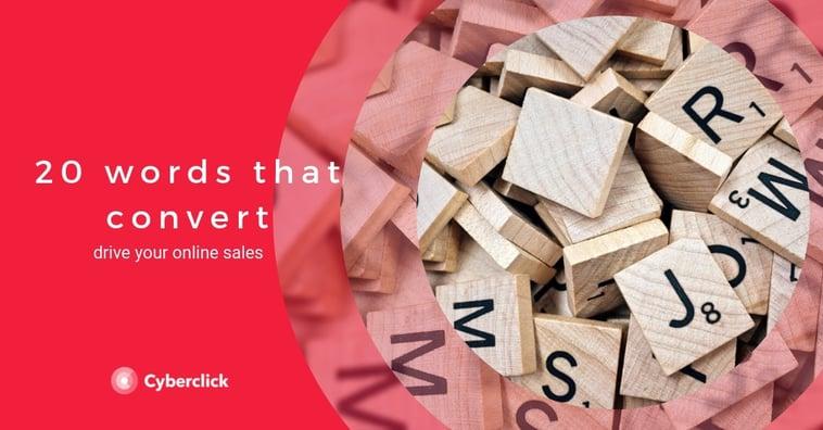 20 Words That Convert Online Sales