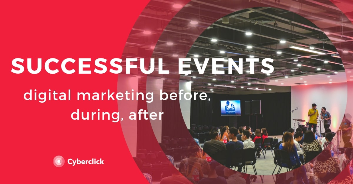 Digital marketing for successful events