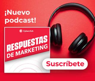 Suscríbete al podcast Respuestas de Marketing