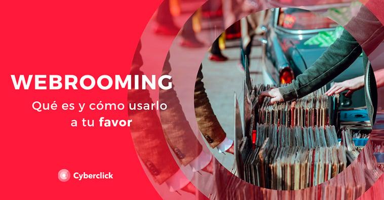 ¿Qué es el webrooming?