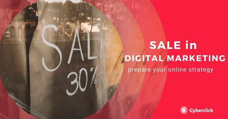SALE in digital marketing: prepare your strategy