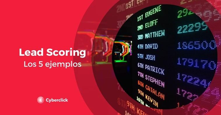 5 ejemplos de lead scoring