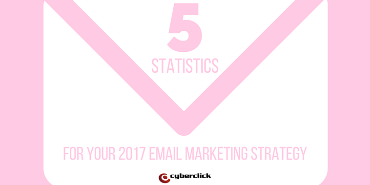 5 important email marketing statistics for your marketing strategy in 2017