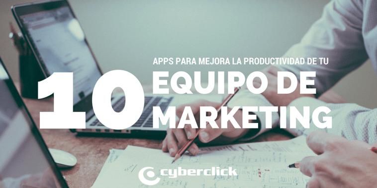 10 apps que pueden mejorar la productividad del equipo de marketing