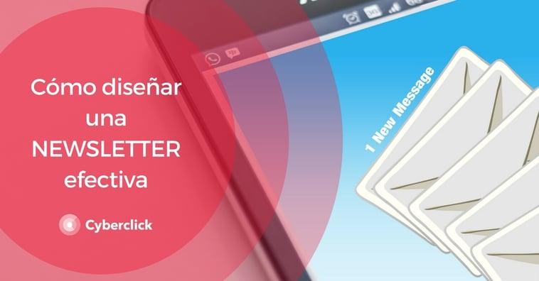 Cómo diseñar una newsletter efectiva