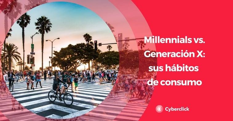Millennials vs. Generación X : qué hábitos de consumo tienen