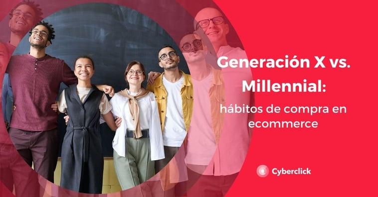 Millennials vs Generación X: hábitos de compra en ecommerce