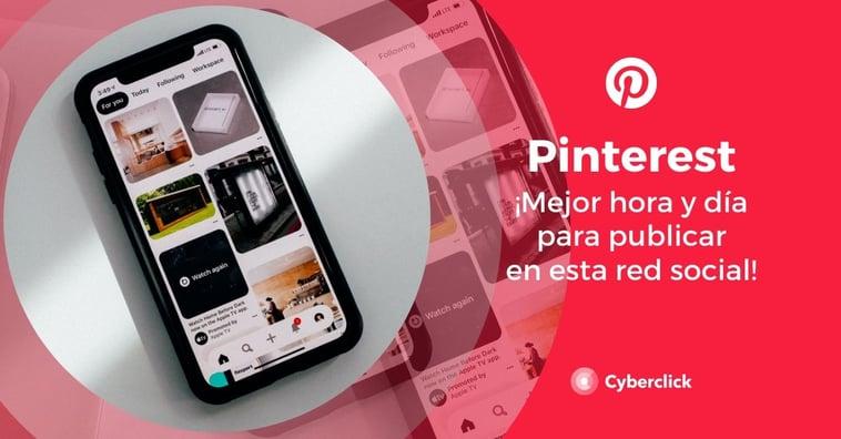 Pinterest: ¡mejor hora y día para publicar!