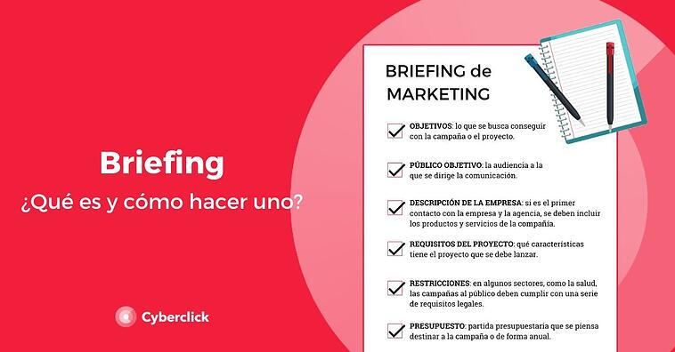 ¿Qué es un briefing y cómo hacer uno? (+plantillas)