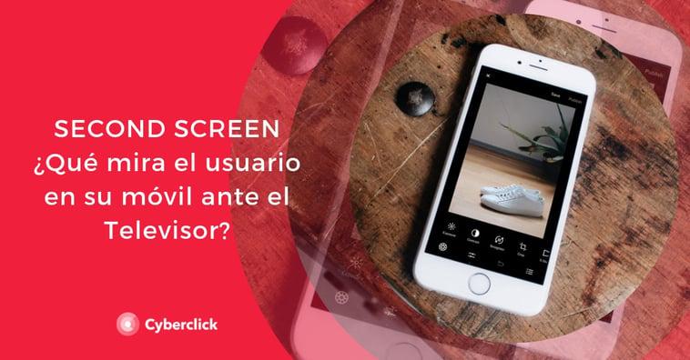 Second screen con TV: ¿qué mira el usuario en su móvil ante el televisor?
