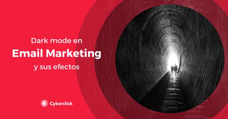 El dark mode en email marketing y sus efectos