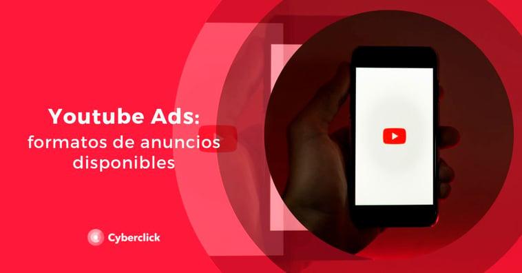 YouTube Ads: formatos de anuncio disponibles