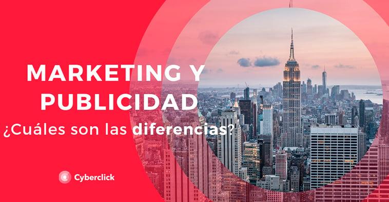 Marketing y publicidad: ¿cuáles son las diferencias?