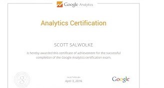 GoogleAnalyticsCertification