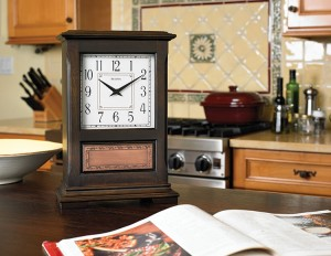 the st louis from the bulova mantel chime collection has a harmonic 2 triple