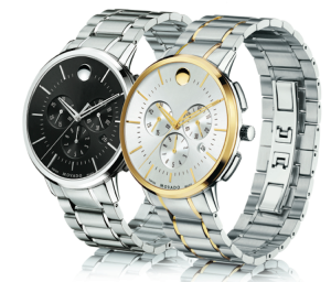 Movado TC (Thin Classic) Chronograph - two color combinations
