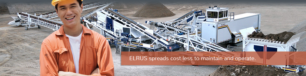 Elrus Spreads cost less to maintain and operate