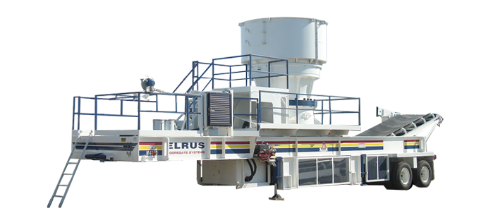 ELRUS Aggregate Systems CS660 Gyrocone Crushing Plant