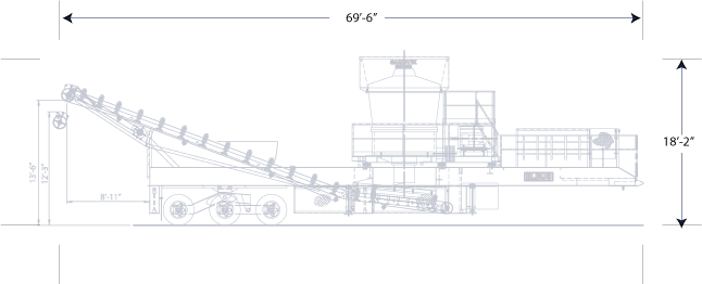 ELRUS Sandvik CS660 Gyrocone General Arrangement