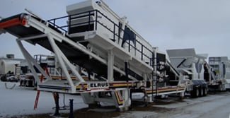 winter maintenance crushing screening equipment