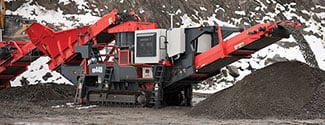 QH440 Mobile Cone Crusher