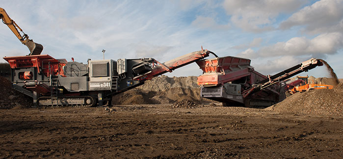 Sandvik Mobile Crushing and Screening Equipment